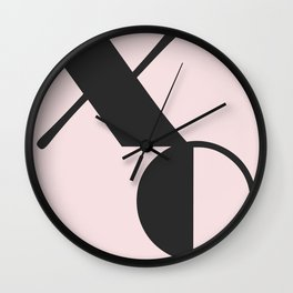 xoxo Wall Clock