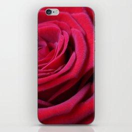 Deep Red Rose iPhone Skin