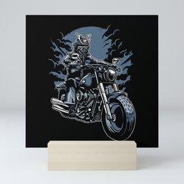 Samurai Ride Mini Art Print