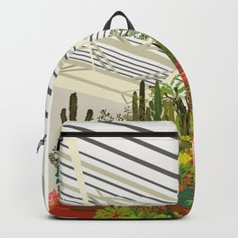 The Conservatory at the Barbican Art Print of London Backpack