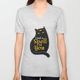 I put a spell on you Unisex V-Neck