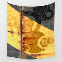 metal Wall Tapestries featuring Metal Planet by Fernando Vieira