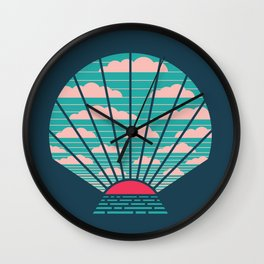 The Birth of Day Wall Clock