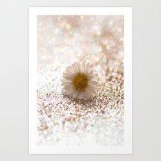 DAISY GOLD - for Mackenzie Art Print