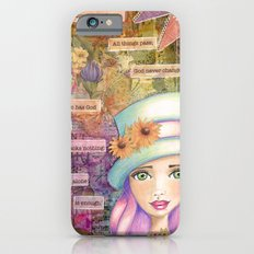 Let Nothing Disturb You iPhone 6s Slim Case