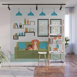 Happy Beagles Make A House A Home Wall Mural