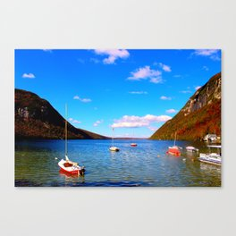 Lake Willoughby - Fall 2013 Canvas Print