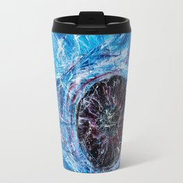 Blue eye Travel Mug