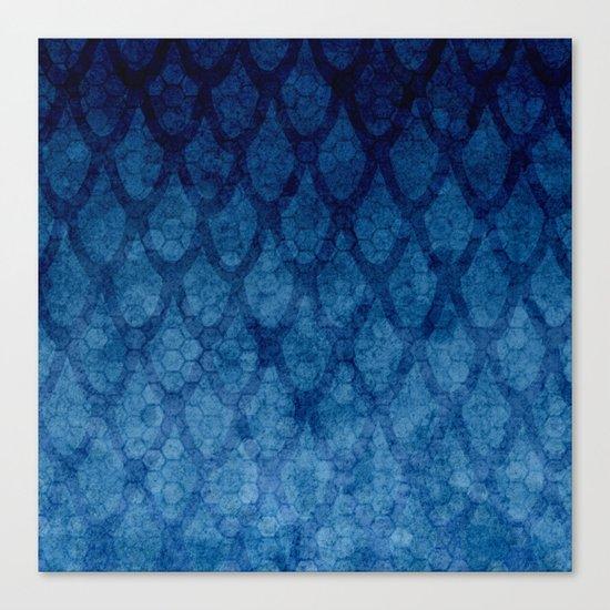 Blue texture Canvas Print