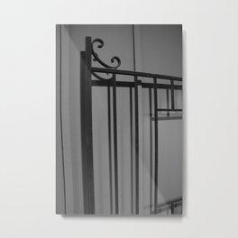 Iron Metal Print