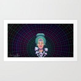 Gaian Mind Art Print