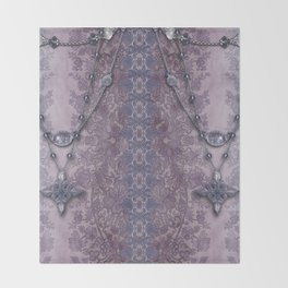ABIGAIL'S LACE: MAUVE and MORE Throw Blanket