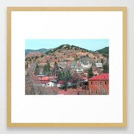 manitou springs Framed Art Print