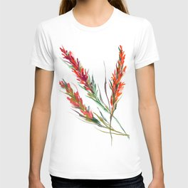 Indian paintbrush watercolor T-shirt