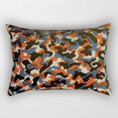 Berlin U-Bahn/S-Bahn Seat Cover Camouflage Pattern Rectangular Pillow