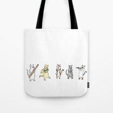 Meowtet Tote Bag