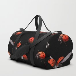 Ladybug at Night Duffle Bag