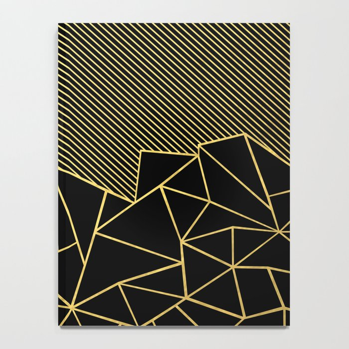 Ab Lines 45 Gold Notebook
