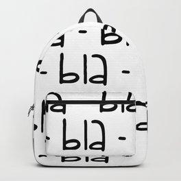 bla-bla-bla Backpack
