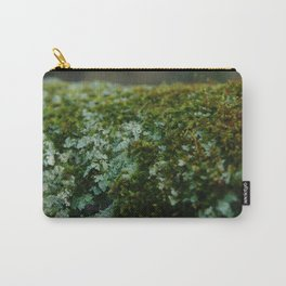 Moss Sporophytes and Foliose Lichen Carry-All Pouch