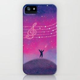 Maestro of Stars iPhone Case