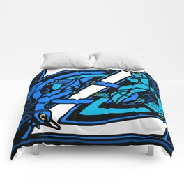 Celtic Peacocks Letter Z Comforters