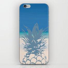 Pineapple Tropical Beach Design iPhone Skin