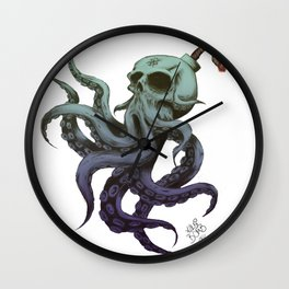 Cthulu-Bomb Wall Clock