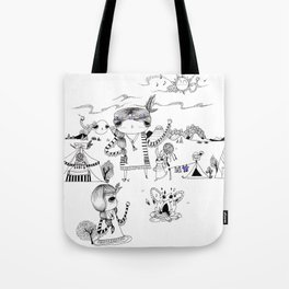 Dancing with me :) Tote Bag