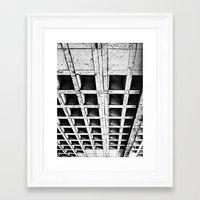 concrete Framed Art Prints featuring Concrete by Cobo