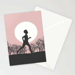 Run forest Run! Stationery Cards