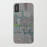 grateful dead iPhone & iPod Cases featuring Grateful by TrishRay