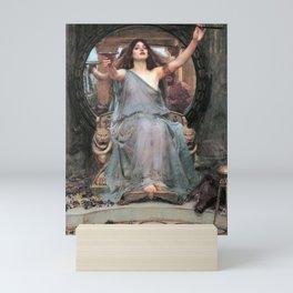 Circe offering the Cup to Odysseus - John William Waterhouse Mini Art Print