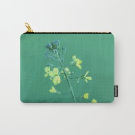 Broccoli Flower Carry-All Pouch
