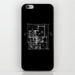 Doing my architecture job iPhone Skin