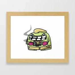 Oven Monster Framed Art Print
