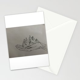 Mountain Hands Stationery Cards
