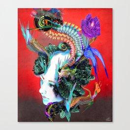 Moire Effect Canvas Print