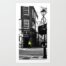 Beat on the Street Art Print