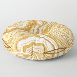 Golden Agate Floor Pillow