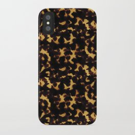 Light Tortoiseshell iPhone Case