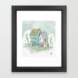 You're My Only Home Framed Art Print