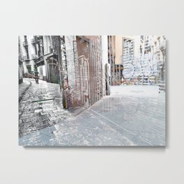 Force the corners, and horn in on the commotion, 5 Metal Print