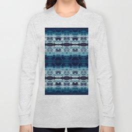 Boho Ombre' Blues Long Sleeve T-shirt