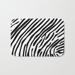 Skin of a zebra Bath Mat