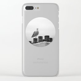 Who are you looking at Clear iPhone Case