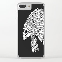 American Indian art Clear iPhone Case