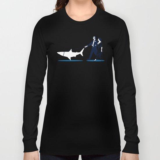 Walking the Shark Long Sleeve T-shirt