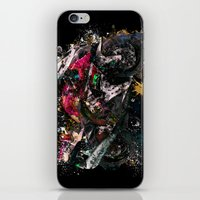 motorcycle iPhone & iPod Skins featuring Motorcycle by ron ashkenazi