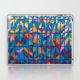 Sunset in a Grid Laptop & iPad Skin